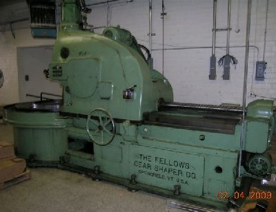 MODEL 100-6 FELLOWS LARGE CAPACITY GEAR SHAPER, 1951
