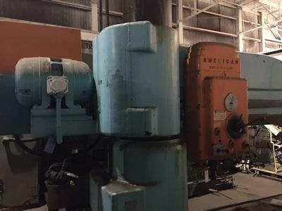 8' X 19 AMERICAN RADIAL DRILL