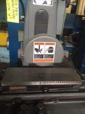 MODEL 618W - 6 X 18 HARIG SURFACE GRINDER