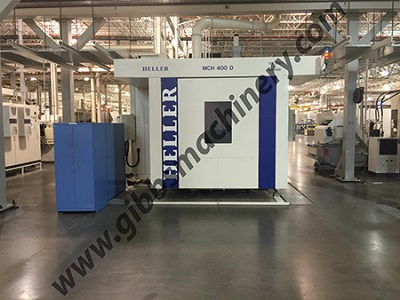 MCH400D HELLER CNC HORIZONTAL MACHINING CENTER