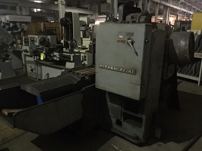 MODEL 4MP-H HITACHI SEIKI PRODUCTION SIMPLEX MILL 48 TRAVEL 14 70 TABLE