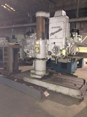 4'13 G & L RADIAL DRILL FROM NEW MACHINE BUILDER