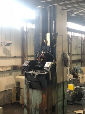 U.S. MODEL 50TX120 VERTICAL PULL DOWN BROACH