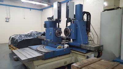 WELTER UHT-800 CNC SINGLE FLANK UNIVERSAL BEVEL GEAR TESTING MACHINE