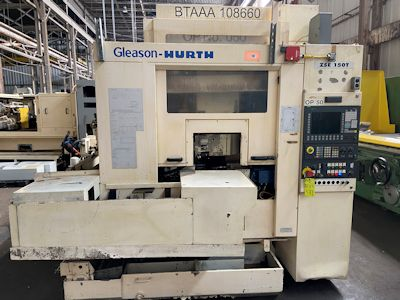 2002 GLEASON HURTH ZSE 150T CNC GEAR SHAVER